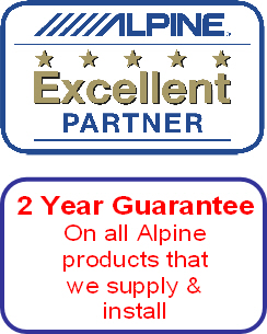 Alpine 2 year guarantee