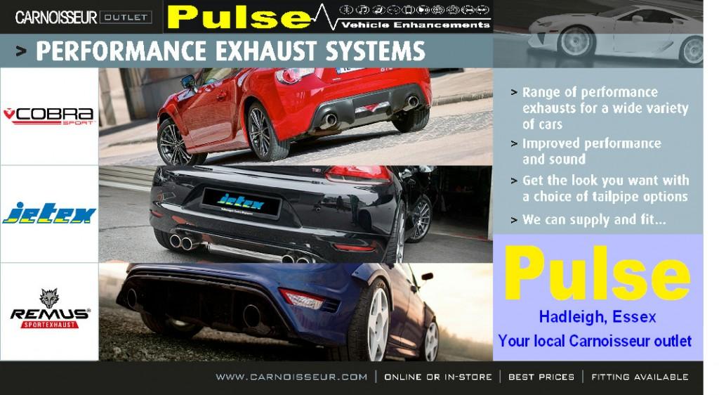 Pulse Carnoisseur Exhausts Offer