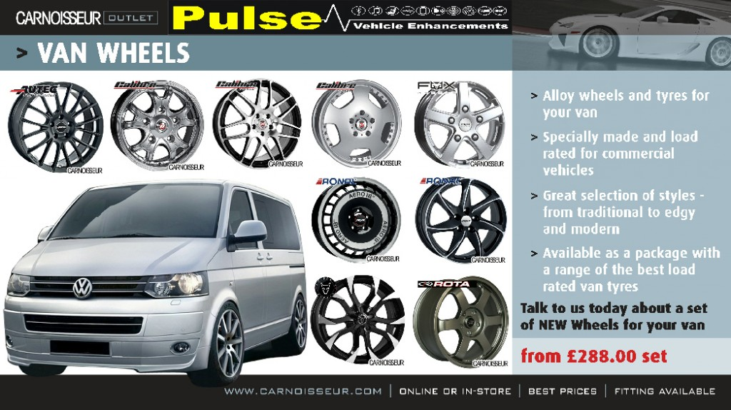 Pulse Carnoisseur Van Wheels Offer
