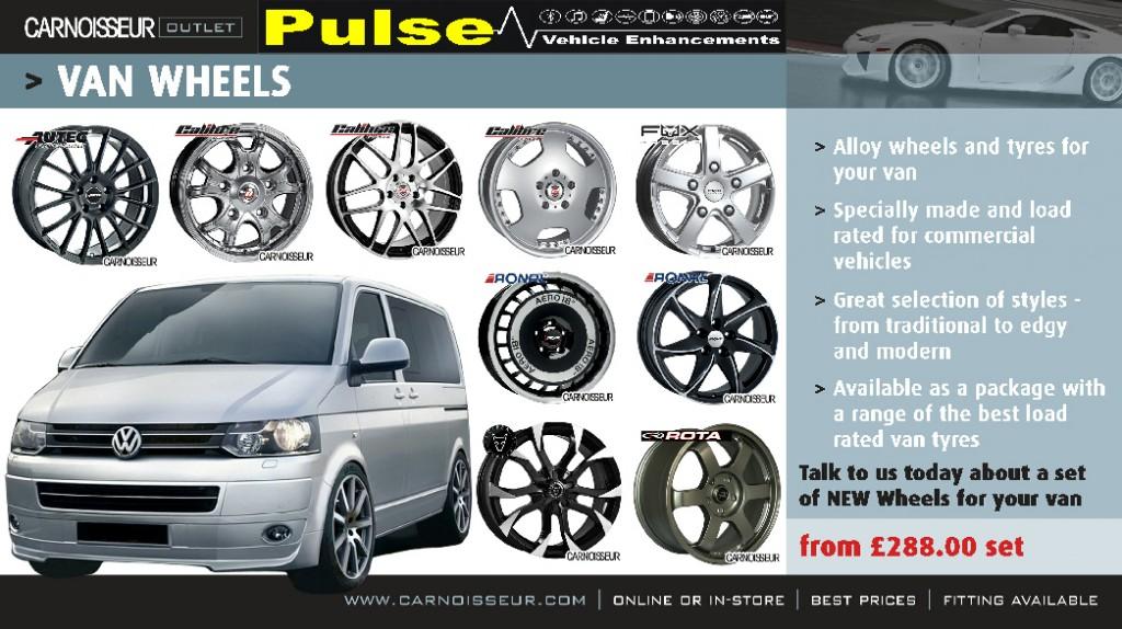 Pulse Carnoisseur Van Wheels Offer