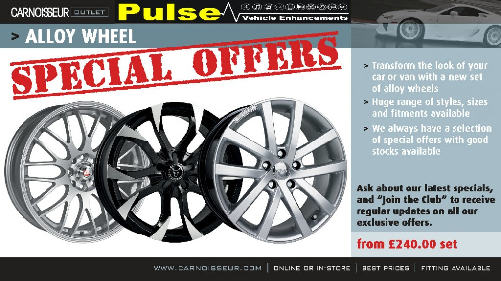 Pulse Carnoisseur Wheels Offer