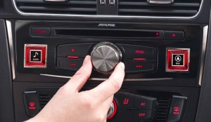 Alpine control panel