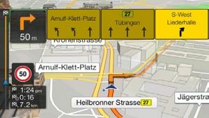 Audi TMC route guidance