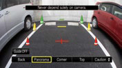 Audi multiview rear camera