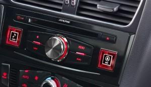 Audi optional DVD player
