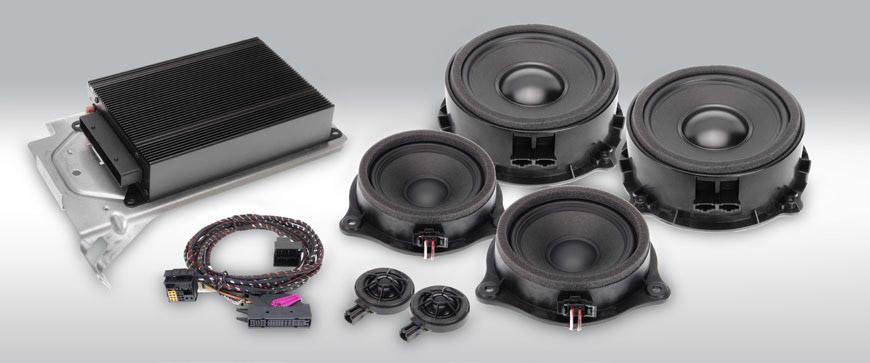 Audi premium Alpine sound system
