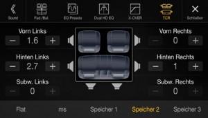 Audi premium sound quality