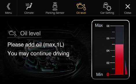 Audi warning messages