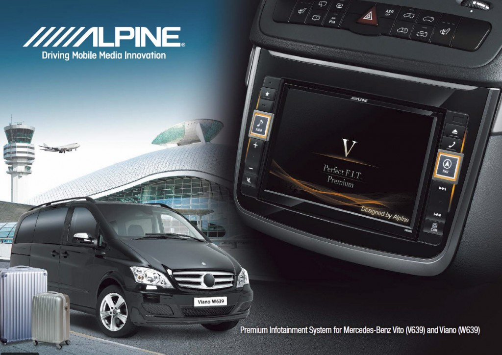 Mercedes vito viano audio upgrades pulse car audio for Mercedes benz audio upgrades