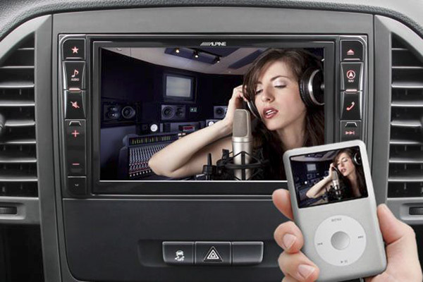 Video Playback on DVD USB iPod